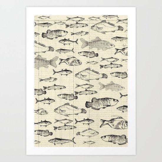 Fish! Art Print