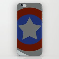 The Captains Shield iPhone & iPod Skin