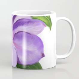 The Purple Clematis Coffee Mug
