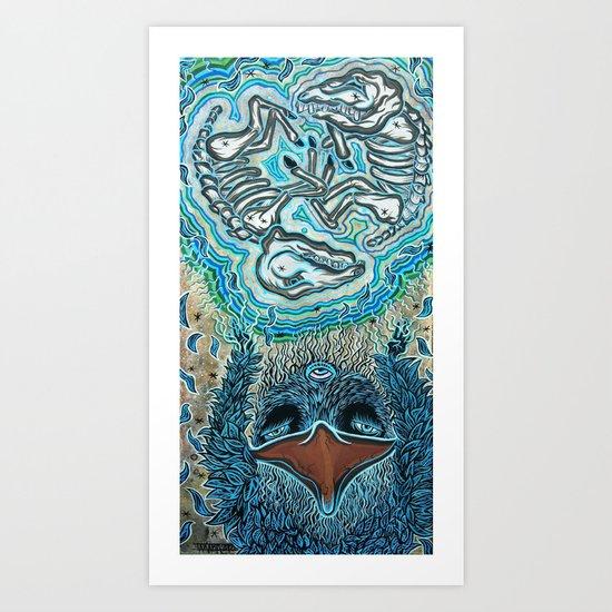 Aumoe Art Print