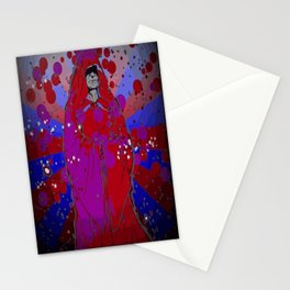 Psychedelic Emperor Stationery Cards