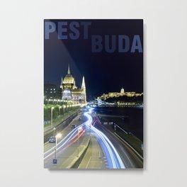 PESTBUDA Metal Print