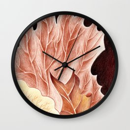 Platycerium Wall Clock