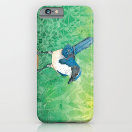Oregon Scrub Jay iPhone Case