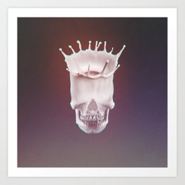 Calcium Is Good for You! Color ED. AKA Skull KING Art Print