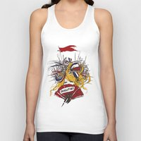 revolution Tank Tops featuring Revolution! by The Eggplant Market