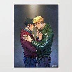 William and Theodore 01 Canvas Print