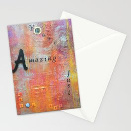 Youre Amazing Just The Way You Are Stationery Cards