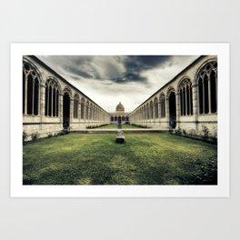 Monumental Cemetery of Pisa Art Print
