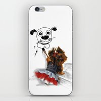 terrier iPhone & iPod Skins featuring terrier by albertovna87