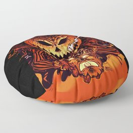 Halloween Pumpkin King (Lord O' Lanterns) Floor Pillow