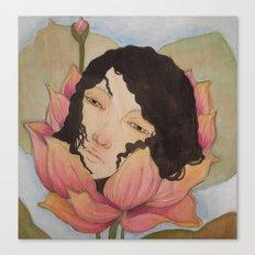 Bloom :: Lotus ::  Canvas Print