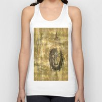 antique Tank Tops featuring Buddha antique by Digital-Art