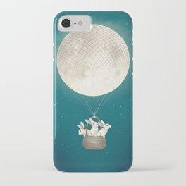moon bunnies iPhone Case