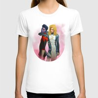 nightcrawler T-shirts featuring Demon and Angel by Kimball Gray