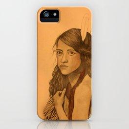 Tribal Girl iPhone Case