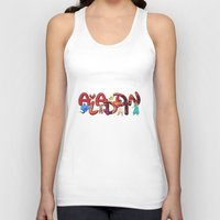 aladdin Tank Tops featuring Aladdin  by Mix-Master