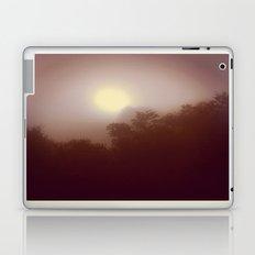 Foggy Autumn Morning Laptop & iPad Skin