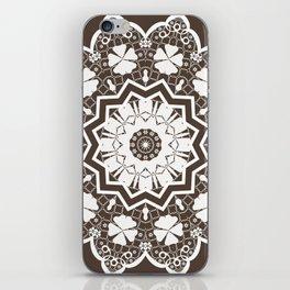 lace ornament iPhone Skin