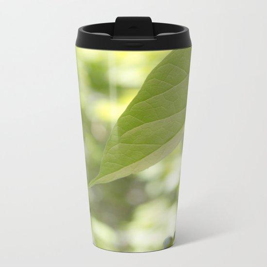 green moments Metal Travel Mug