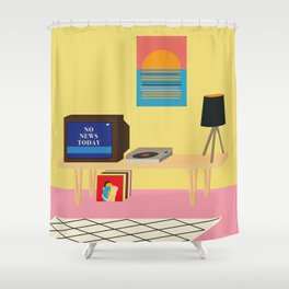No News Today Shower Curtain