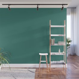 Dunn & Edwards 2019 Trending Colors Imperial Dynasty (Aqua Green, Teal, Turquoise) DE5727 Solid Colo Wall Mural