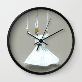 Paths to the Waterfall - one Wall Clock