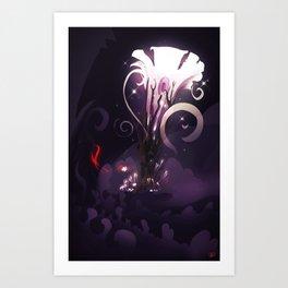"""Noctus"" (Hight resolution) Art Print"