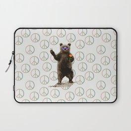 peace bear Laptop Sleeve