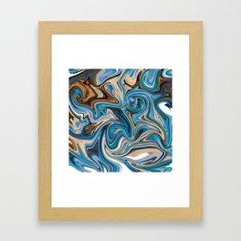 Marble 1 Framed Art Print