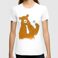 the office T-shirts featuring Office Bear by Tobe Fonseca