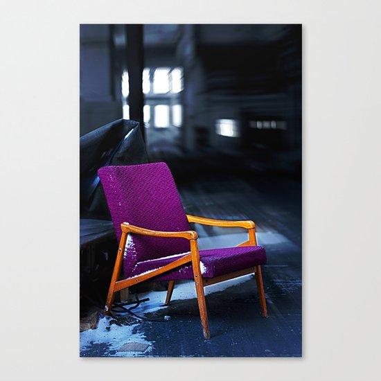 Royal chair Canvas Print