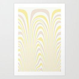 Polar Dunes Art Print