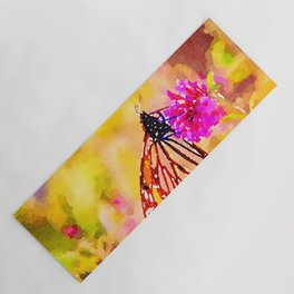 Monarch Butterfly Yoga Mat
