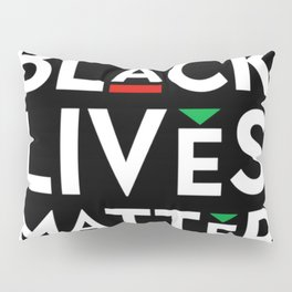 Black Lives Matter portrait Pillow Sham