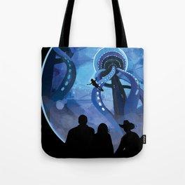 NASA Retro Space Travel Poster #4 - Europa Tote Bag
