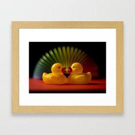 Rubber Duck Still Life II Framed Art Print