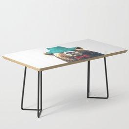 Funny Bear Illustration Coffee Table