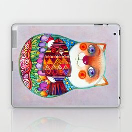 CAT  - Russian  Doll  - Matrioshka-  Artist Oxana Zaika Laptop & iPad Skin