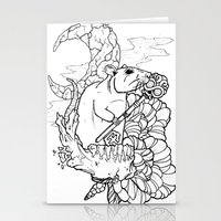 rat Stationery Cards featuring Rat by Ruff Worlock