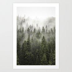 Porcupine ridge (clarity) Art Print