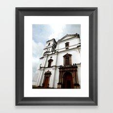 Majestic Church Framed Art Print