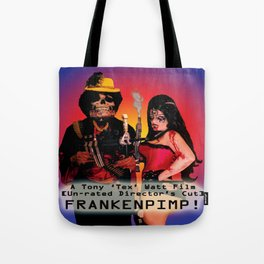 Frankenpimp (2009) - Movie Poster Tote Bag