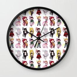 RWBY + JNPR Wall Clock