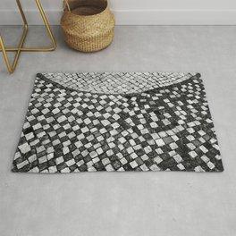 Mosaico A calçada portuguesa Rug