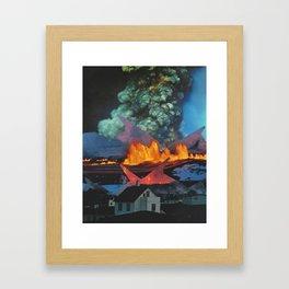 Beyond These Four Walls Framed Art Print