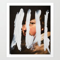 Untitled (Finger Paint 2) Art Print