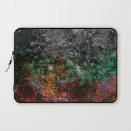Teal Autumn Grunge Laptop Sleeve