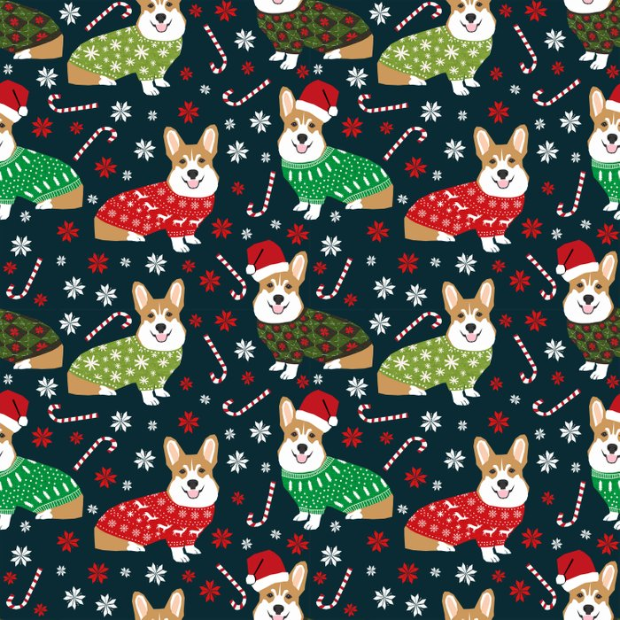 corgi christmas sweater ugly sweater party with welsh corgis dog lovers dream christmas comforters