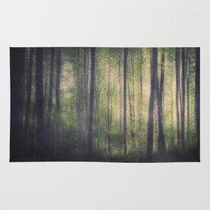 In the woods of Mournton Combs Rug